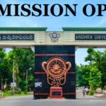 andhra university admission