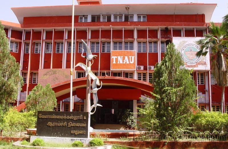 Tamil Nadu Agricultural University (TNAU) located in Coimbatore