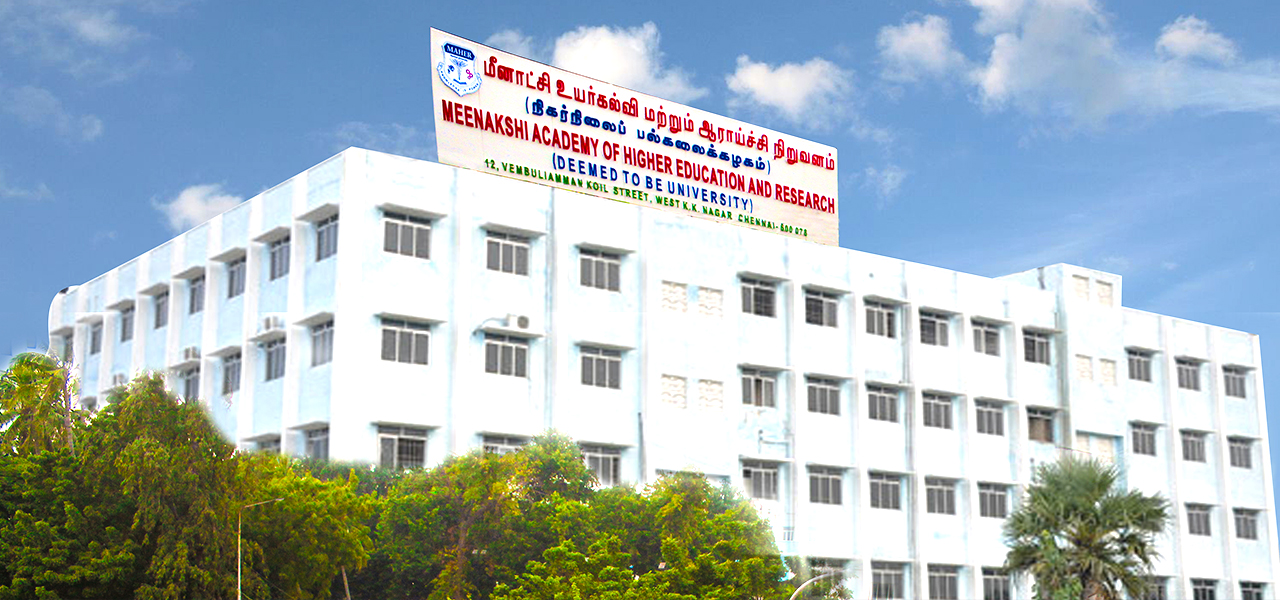 Meenakshi Academy of Higher Education and Research Fee Structure