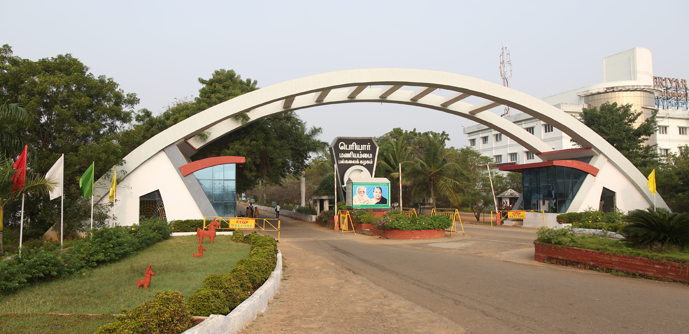 Periyar Maniammai Institute of Science & Technology (PMIST) Fee Structure