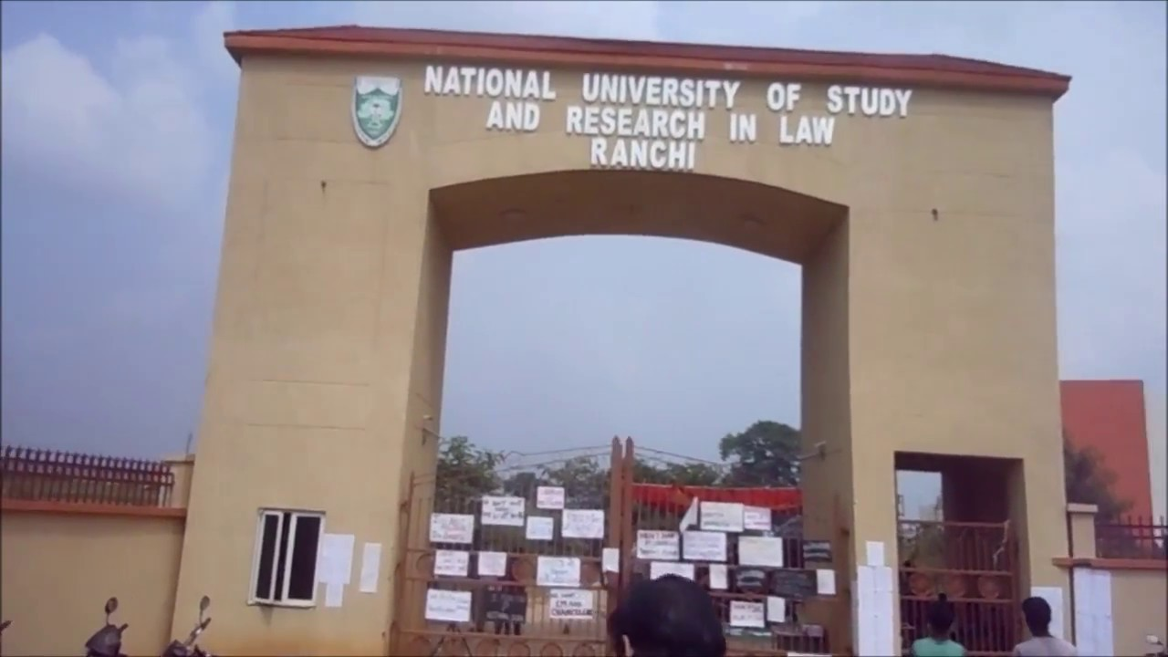 National University of Study & Research in Law Fee Structure